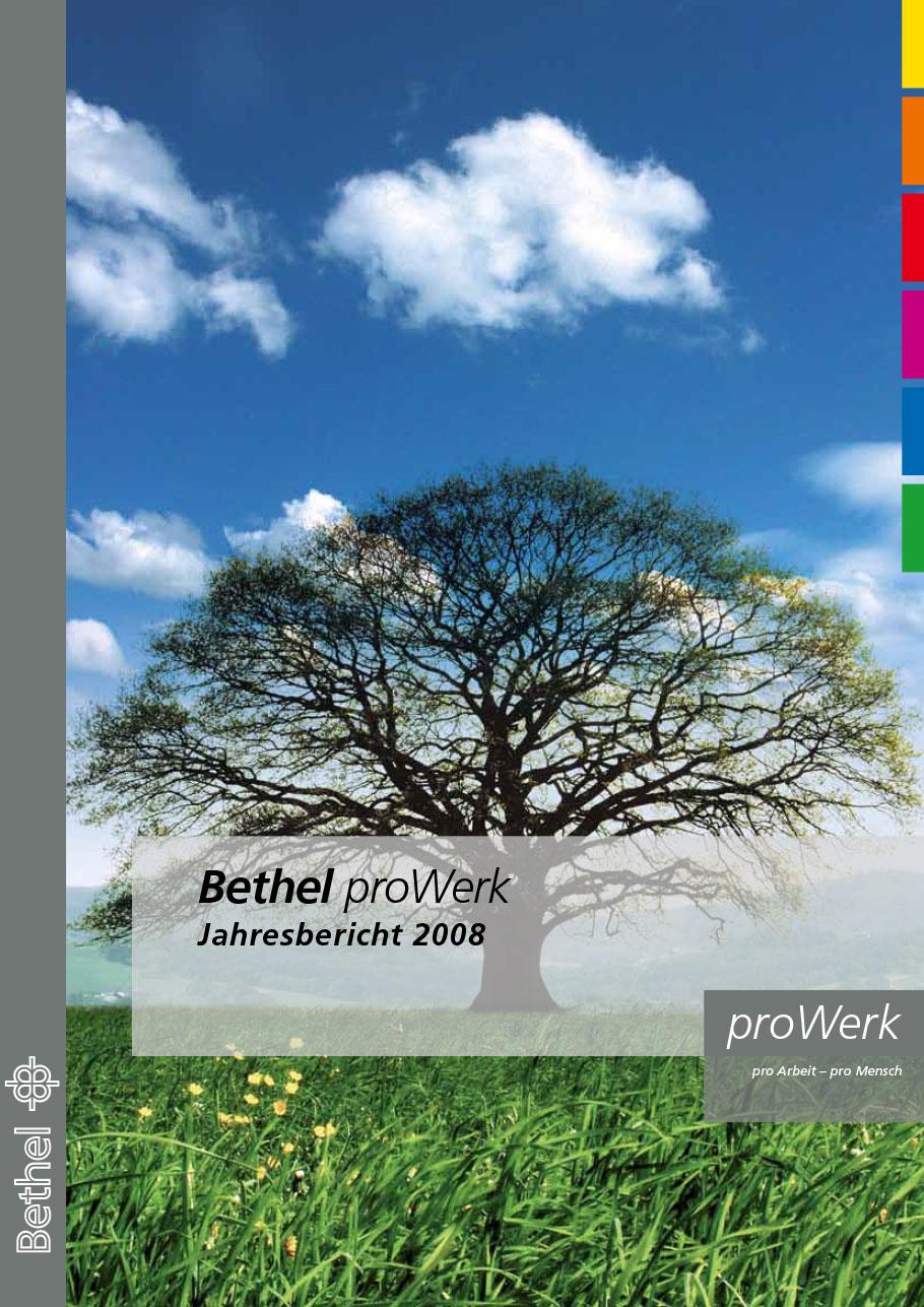 Bethel proWerk Jahresbericht 2008 - Download PDF