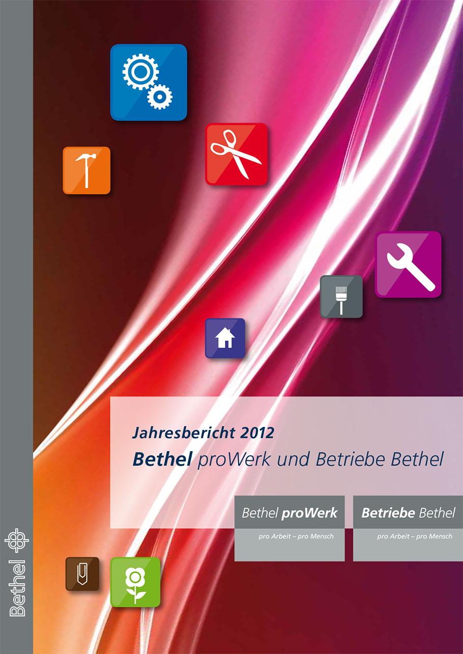 Bethel proWerk Jahresbericht 2012 - Download PDF
